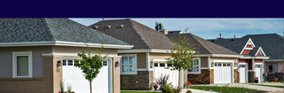 Senior retirement Edmonton cottage exteriors