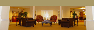 Edmond senior living high class lobby