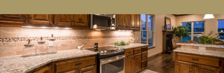 Edmond senior living kitchen