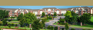 Landscape view of edmond senior living