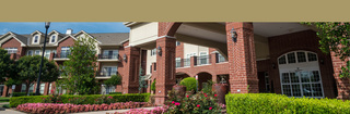Senior living building exterior in Edmond