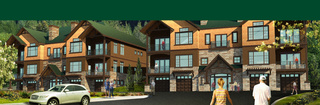 Senior living in Portland garden home rendering exterior