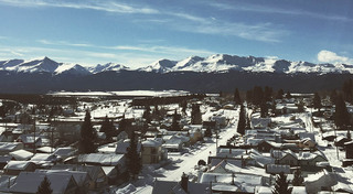 Neighborhood around our historic apartment building in leadville
