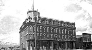 Our historic building in leadville