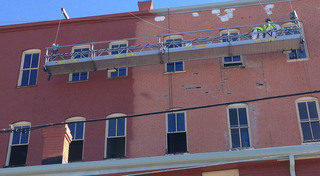 Renovations at our histor building in leadville