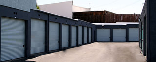 Our storage spaces at our facility in San Clemente, CA