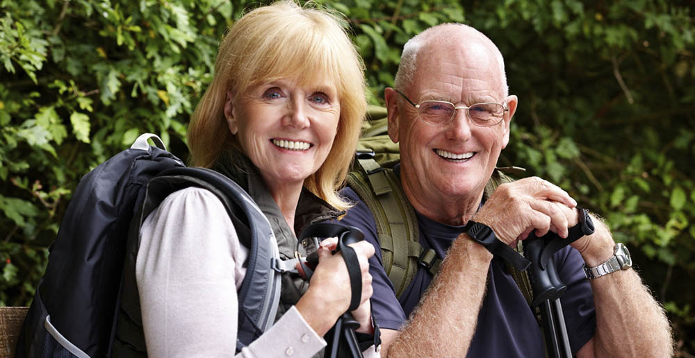 Seniors hiking near dracut ma