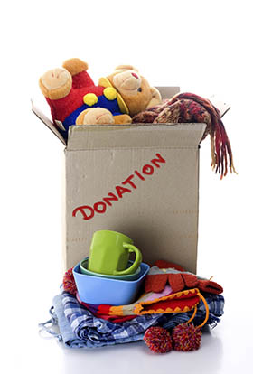Donate your unwanted goods at A-1 Self Storage