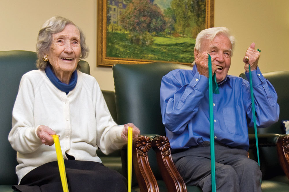 Excercise and wellness windham nh senior living