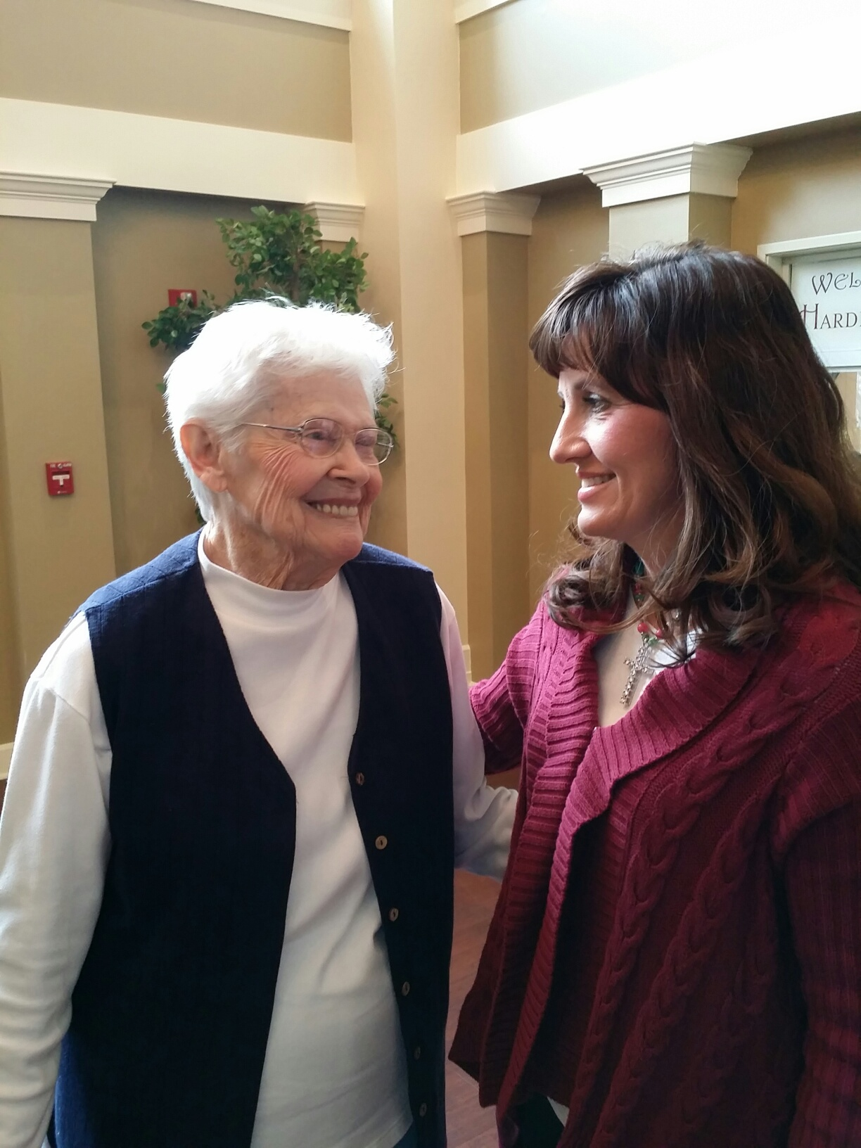 Respite care at the senior living facility in Searcy