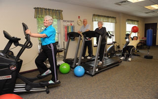 Healthy exercise at our facility Harleysville, PA