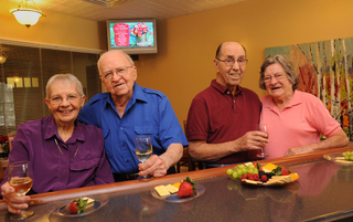 Healthy eating habits are supported at our facility in Harleysville, PA