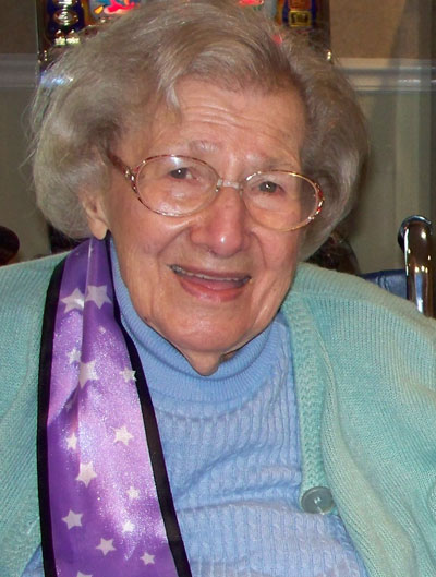 Genavieve is 103