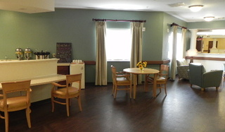 Large dining area at kempsville