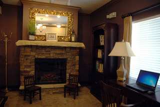 Cozy den our location in Charlotte, NC