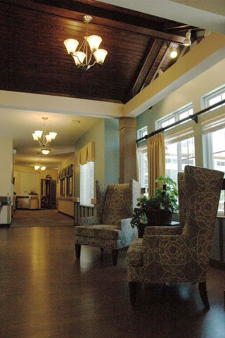 Lobby seating our location in Charlotte, NC