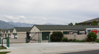 Gated self storage in riverton