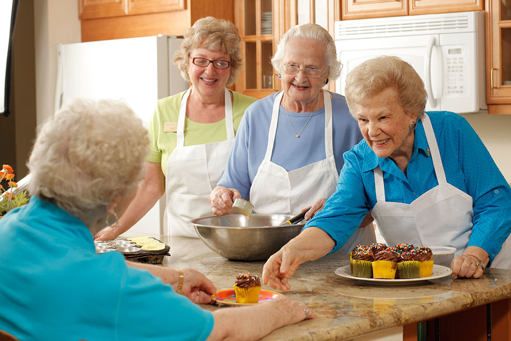 Friends at assisted living valley terrace vt