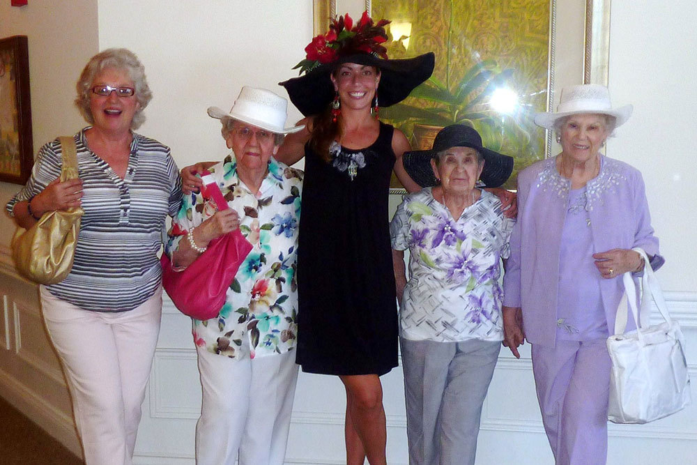 Girls night out valley terrace vt assisted living