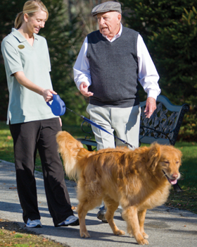 Woodstock, VT senior living care is highly regarded in the community.