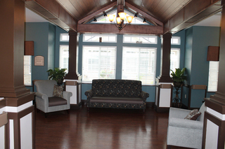 Waiting area at our facility in youngsville nc