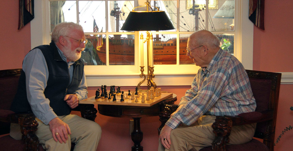 Chess game home page