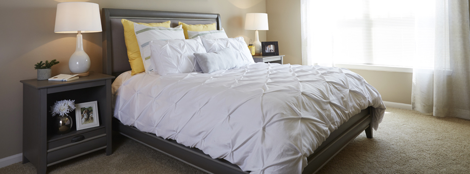 3 comfortable beds
