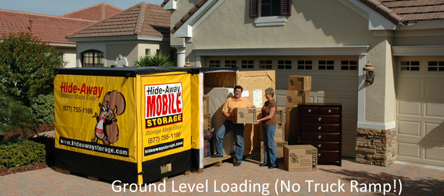 6 ground level loading no truck ramp