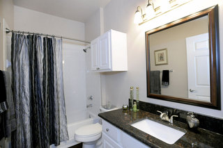 New bathroom apartments in