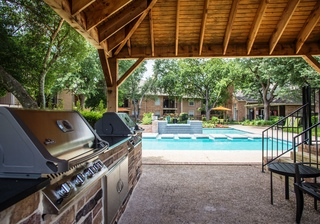 Copper creek grill area pool