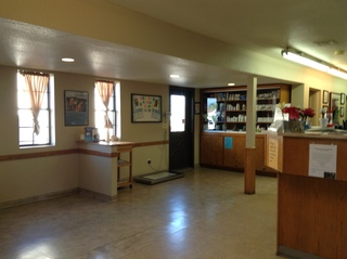 Verde veterinary hospital cottonwood lobby