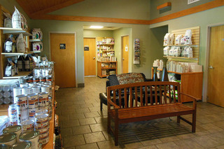 Animal hospital of signal mountain lobby