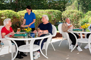 Assisted living on the patio maine