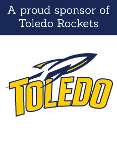 Proud Sponsor of the Toledo Rockets