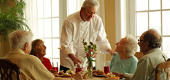 Assisted living and memory care in New England and Florida.