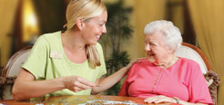 Assisted living and memory care provided by the Terrace Communities network