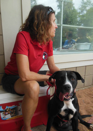 Humane sociaty with pet adoption at opne house