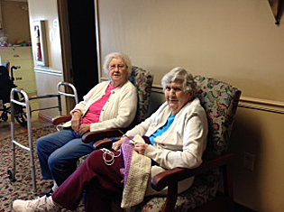 Assisted living residents enjoy living at Scranton Manor Personal Care Center