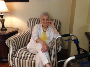 Assisted living residents enjoy living at Kingston Manor Personal Care Center