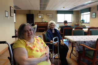 Residents at our facility are healthy and happy