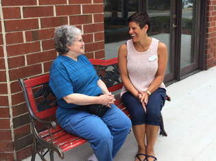 Assisted living residents enjoy living at Old Forge Manor Personal Care Center