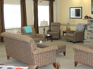 Assisted living residents enjoy living at The Crossings at Wayside