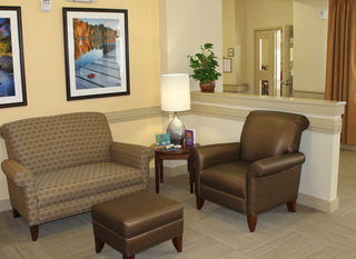 Comfortable living area in our facility