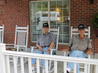 Happy residents enjoy living at Meadowview Assisted Living