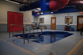Water rehab at our pet care hospital in lubbock tx