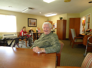 Assisted living residents enjoy living at Mid-Valley Manor Personal Care Center