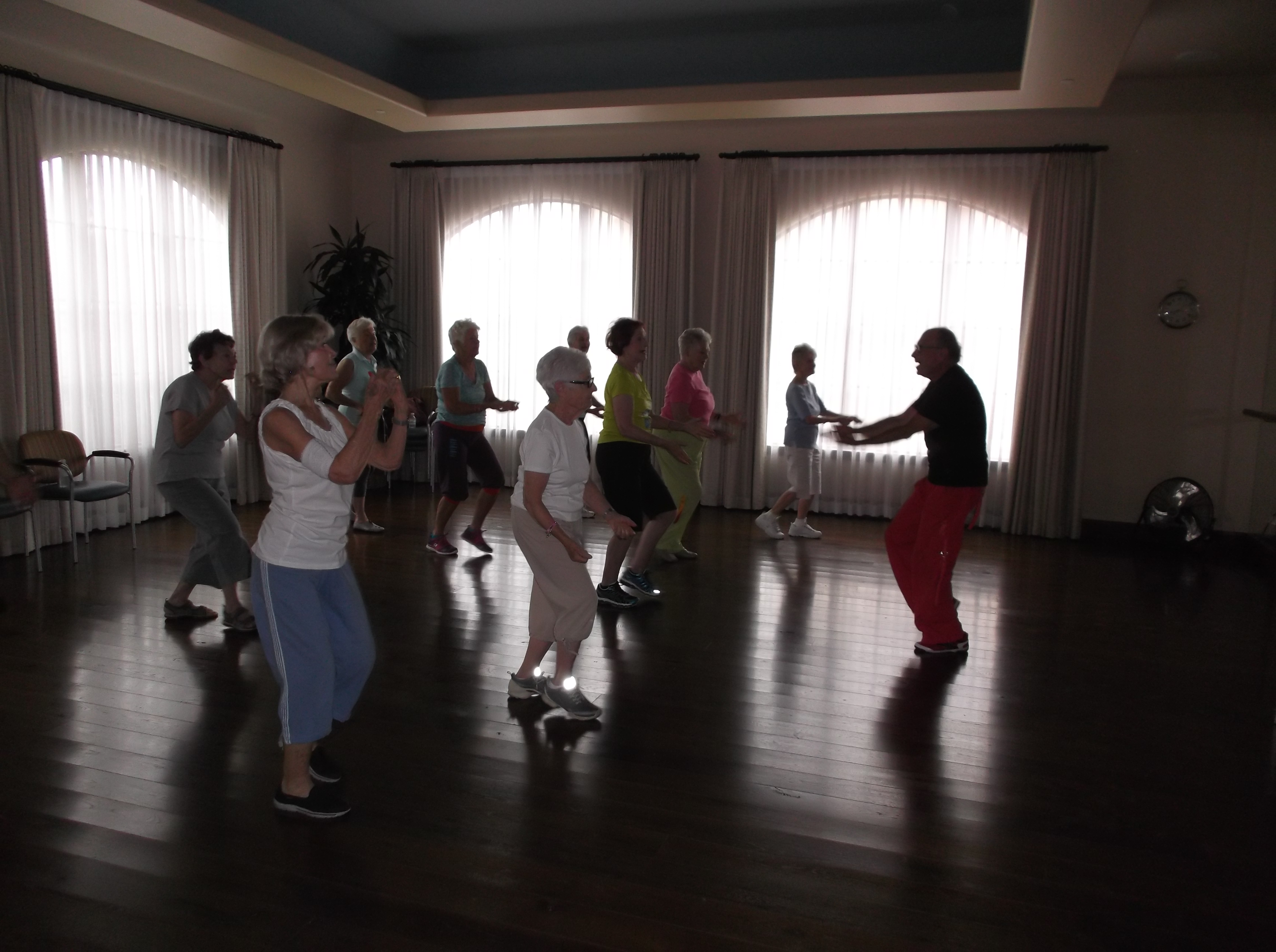Older Adults Moving & Grooving to Better Health