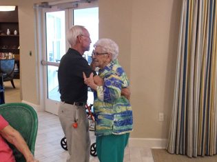Happy residents enjoy living at The Crossings at Riverview