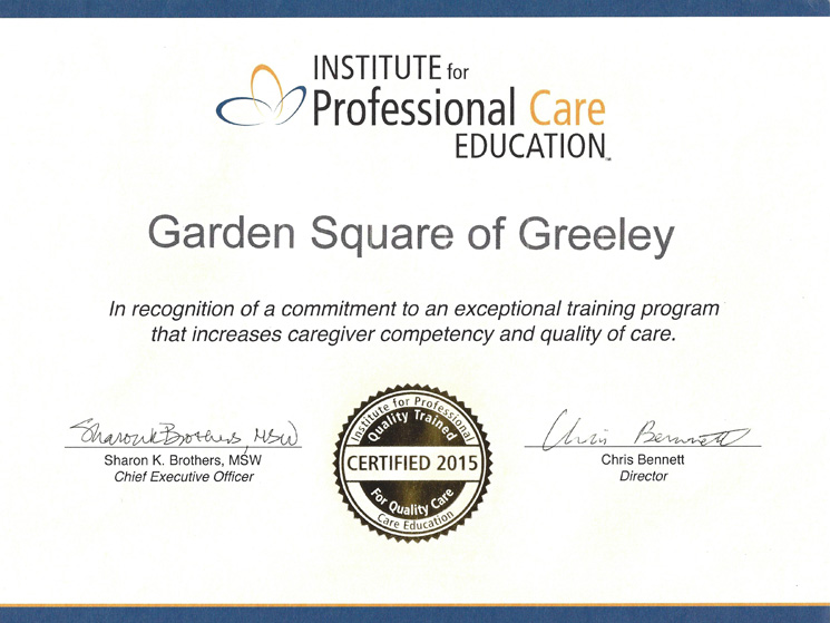 Exceptional training at greeley
