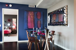 Dining room at estuary apartments